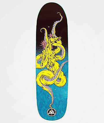 "Welcome Seahorse Psyanka 8.5"" Skateboard Deck"
