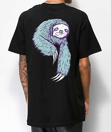 Welcome Sloth Black T-Shirt