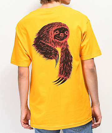 Welcome Sloth Gold T-Shirt