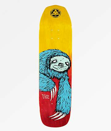 "Welcome Sloth On Vimana 8.25"" Skateboard Deck"