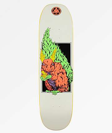 """Welcome Squizard On Moontrimmer 2 8.5"""" Skateboard Deck"""
