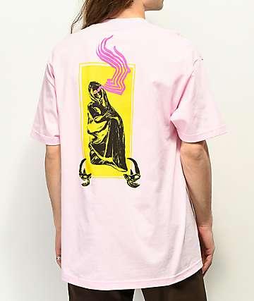 Welcome Statue camiseta rosa