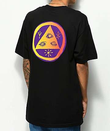 Welcome Talisman Black & Lavender Black T-Shirt