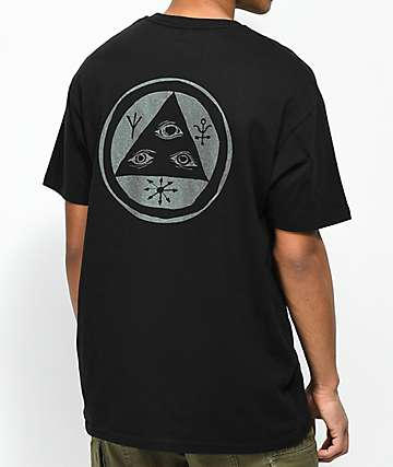 Welcome Talisman Shifting Ink camiseta negra