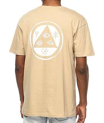 Welcome Talisman camiseta en color arena