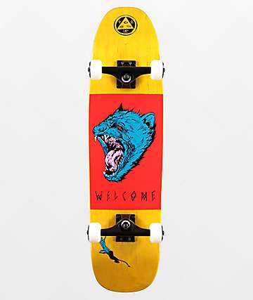 "Welcome Tasmanian Angel 8.25"" Skateboard Complete"