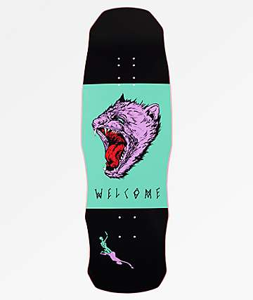 "Welcome Tasmanian Angel On Dark Lord 9.75"" Skateboard Deck"