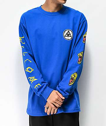 Welcome Tasmanian Royal Blue Long Sleeve T-Shirt