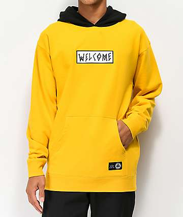 Welcome Veil Gold & Black Hoodie
