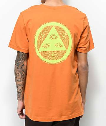 Welcome Vertigo Orange T-Shirt