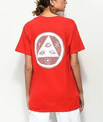Welcome Vertigo camiseta roja