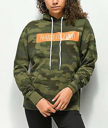Wish You Were Northwest Hard To Find Camo Hoodie