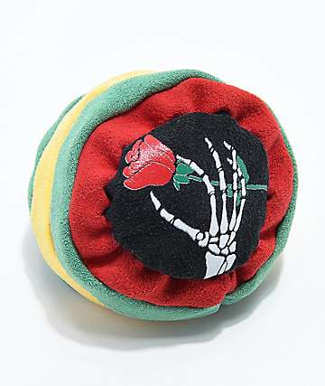 World Footbag RIP Rose Rasta hacky sack