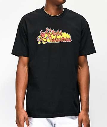 World Industries Retro Corp Black T-Shirt