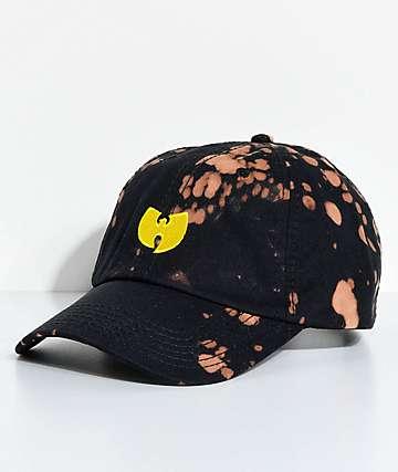 Wu-Tang gorra strapback en negro blanqueado