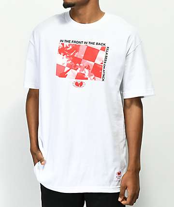 Wu Wear Attack White T-Shirt