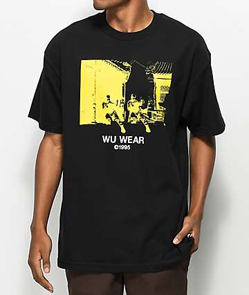 Wu Wear Monk Black T-Shirt