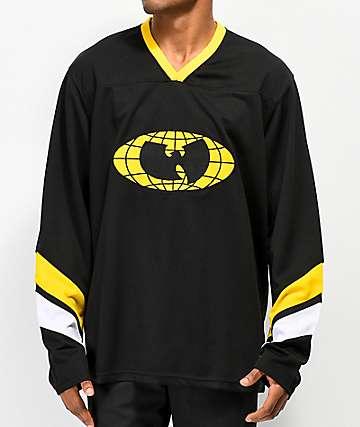 Wu Wear Shaolin jersey negra y amarilla
