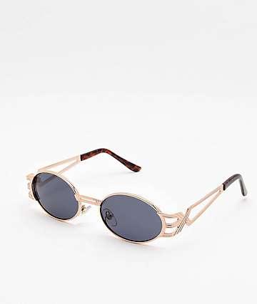 X Temple Gold Sunglasses