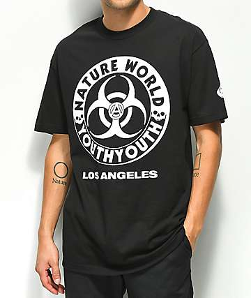 YOUTHyouth Nature Black T-Shirt
