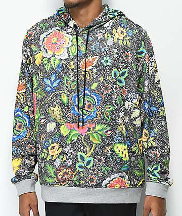 YRN All Over Floral Hoodie
