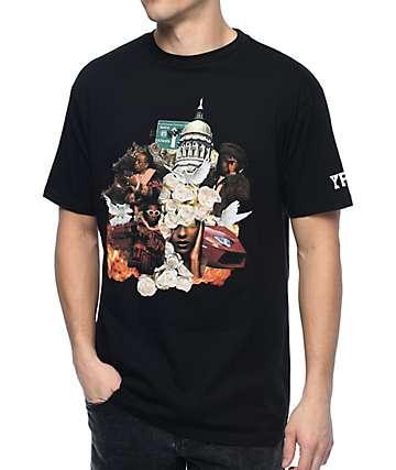 YRN Culture Album camiseta negra