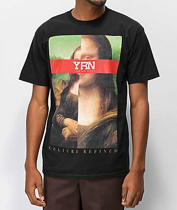 YRN Culture Refined Black T-Shirt