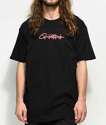 YRN Culture Script Black T-Shirt