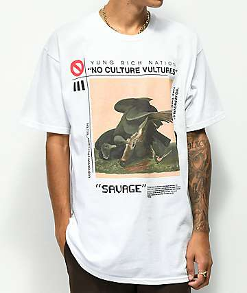 YRN Culture Vultures White T-Shirt