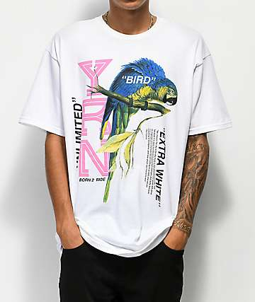 YRN Extra White Bird White T-Shirt
