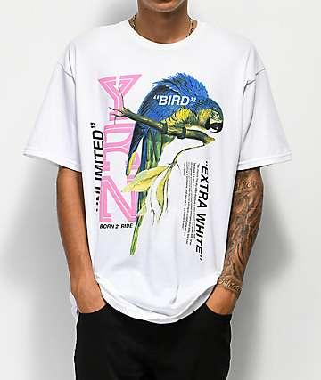 YRN Extra White Bird White T-Shirt