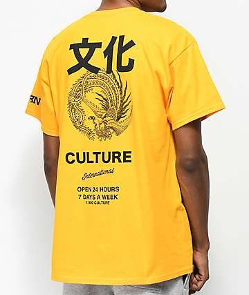 YRN Intl. Culture Gold T-Shirt
