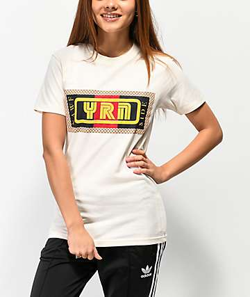 YRN Nawf Side Cream T-Shirt