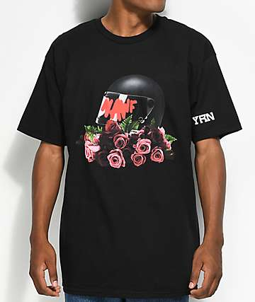 YRN Nawf Side camiseta negra