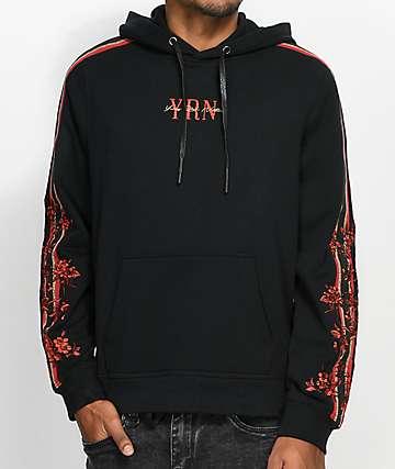YRN Rack Suit Black Hoodie