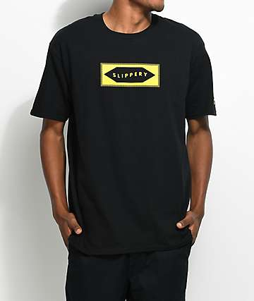 YRN Slippery Black T-Shirt