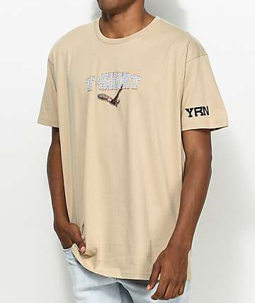 YRN T-Shirt Movie Tan T-Shirt