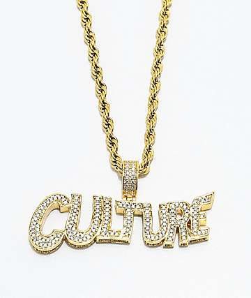 Necklaces zumiez yrn x the gold gods culture gold chain necklace aloadofball Choice Image