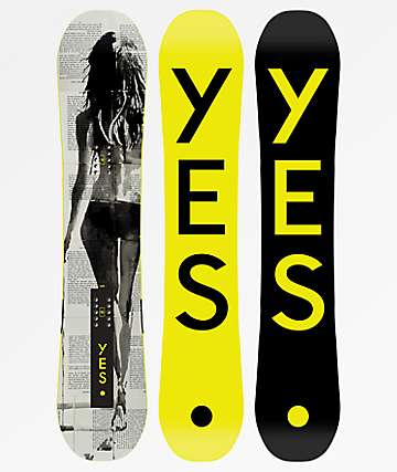 Yes. Typo Black & Yellow 155 Snowboard