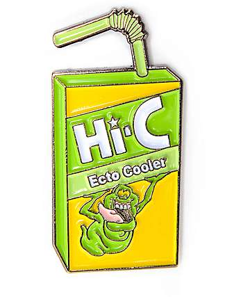 Yesterdays Ecto Chill Enamel Pin