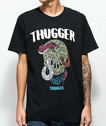 Young Thug Thugger Skull Snake Black T-Shirt