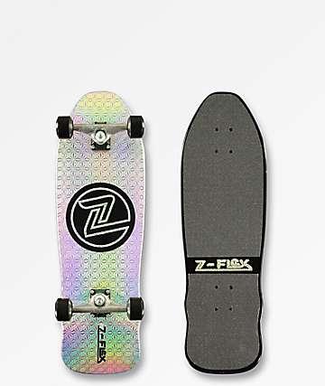 "Z-Flex 80s Circle Zirconia 31"" Cruiser Skateboard Complete"