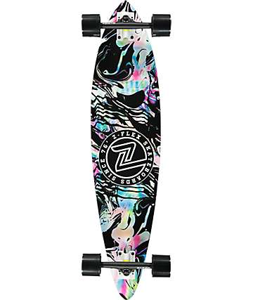 "Z-Flex Acid Swirl 38""  pintail longboard completo"