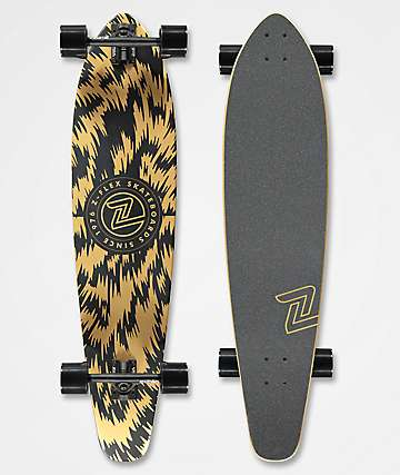 "Z-Flex El Dorado 39"" Roundtail Longboard completo"