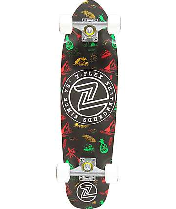 """Z-Flex Island Time 27"""" cruiser completo de skate"""
