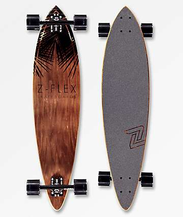 "Z-Flex Island Time 38"" Pintail Longboard Complete"