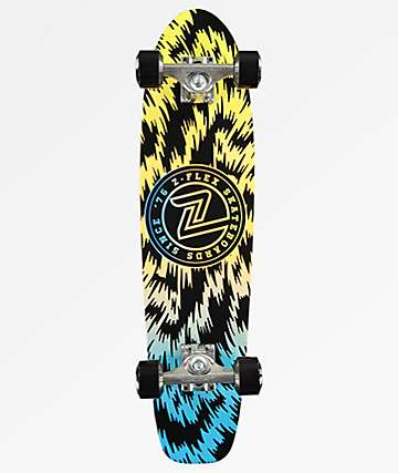"Z-Flex Jungle Acid 29""  cruiser completo de skate"