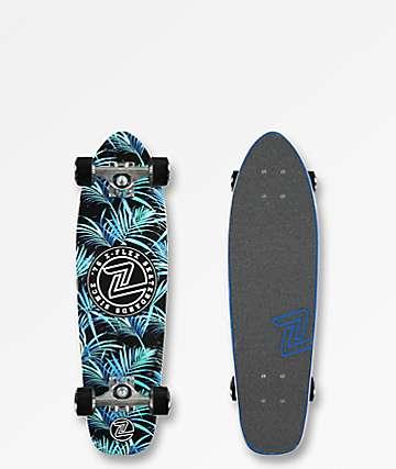 "Z-Flex Night Jungle 27"" Cruiser Complete Skateboard"