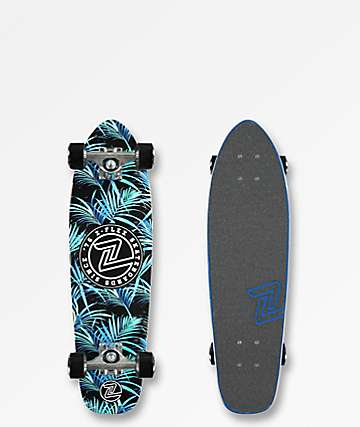 "Z-Flex Night Jungle 27"" cruiser completo de skate"