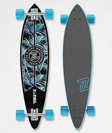 "Z-Flex Night Jungle 38"" Pintail Longboard Complete"